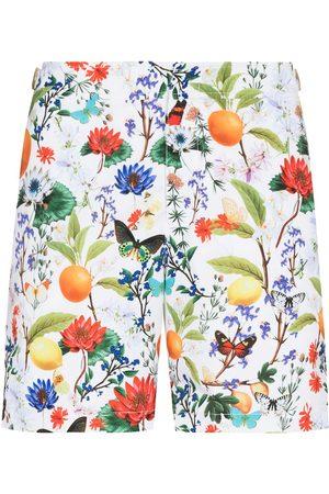 Orlebar Brown Bulldog botanical-print swim shorts