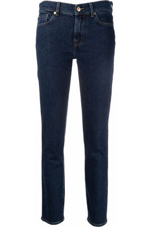 7 for all Mankind Women Skinny - Low-rise skinny jeans