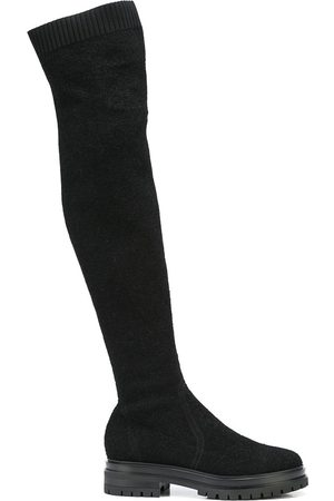 Gianvito Rossi Bouclé over-the-knee boots