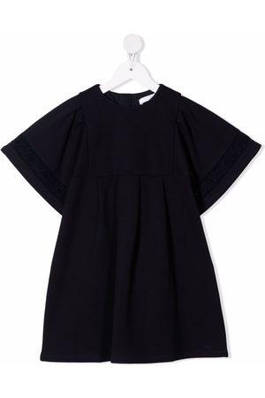 Chloé Girls Dresses - Broderie-anglaise trim dress