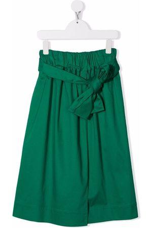 Marni Gathered cotton skirt
