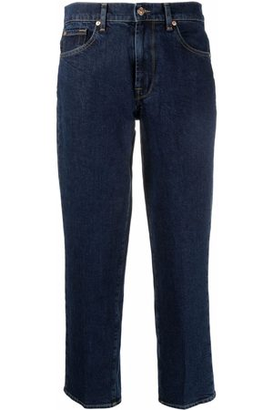 7 for all Mankind Women Straight - Mid-rise straight jeans