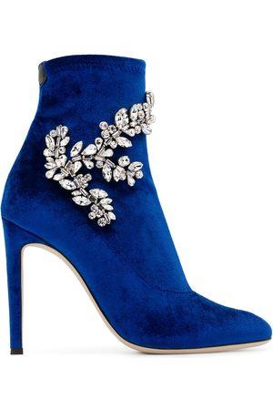 Giuseppe Zanotti Women Boots - Celeste crystal-embellished boots