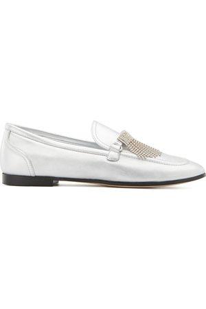 Giuseppe Zanotti Jodie rhinestone-embellished loafers
