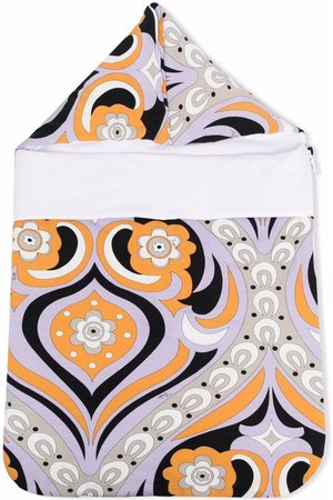 Emilio Pucci Abstract print quilted nest