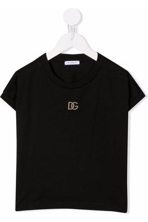 Dolce & Gabbana Crystal-embellished DG T-shirt