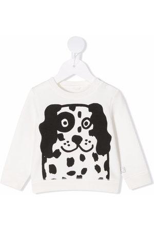 Stella McCartney Baby Sweatshirts - Happy Dog-print sweatshirt