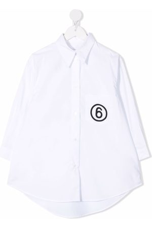 MM6 KIDS Girls Tops - Logo-print shirt