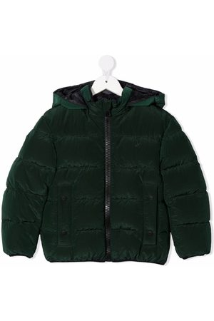 HERNO Boys Jackets - Hooded down jacket