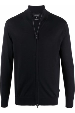 Emporio Armani Zip-up knitted jumper