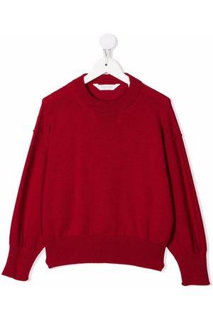 Palm Angels Boys Sweatshirts - LOGO SWEATHER WHITE
