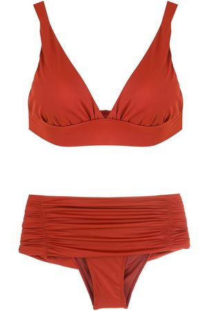 Brigitte Women Bikinis - Ruched-detail bikini