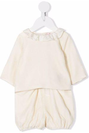 BONPOINT Baby Pants - Ruffle-collar trouser set