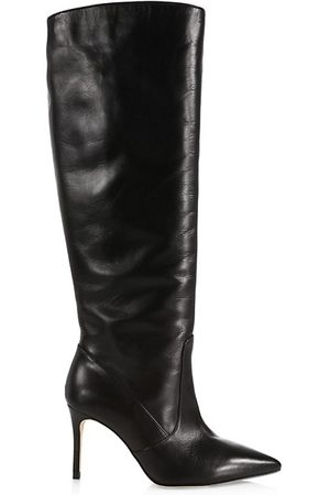 L'Agence Lena Printed Tall Leather Boot