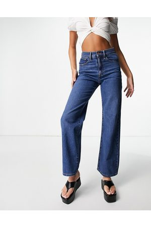 ONLY Women Jeans - Hope wide leg jeans in mid