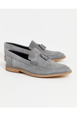 ASOS Loafers in suede with tassel on natural sole