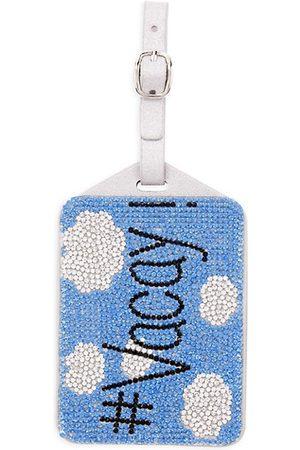 Bari Lynn Girl's Embellished Vacay Luggage Tag