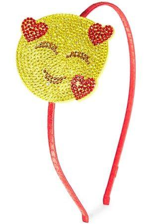 Bari Lynn Girl's Hearts Emoji Headband