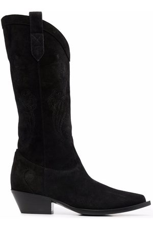 Etro Women Knee High Boots - Knee-high leather boots
