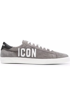 Dsquared2 Men Sneakers - Icon embroidered low-top sneakers