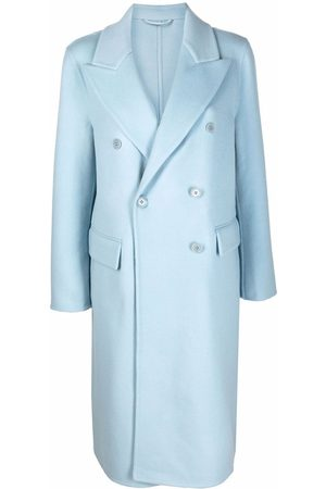 ERMANNO SCERVINO Women Coats - Double-breasted felted wool coat
