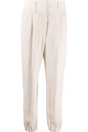 Brunello Cucinelli Corduroy tapered trousers
