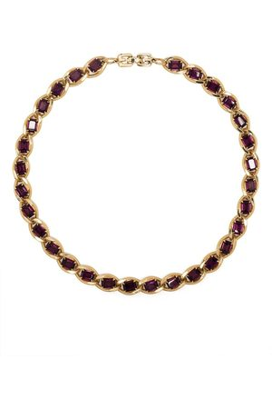 Givenchy Pre-Owned Women Necklaces - 1970s-1980s stone-embellished choker