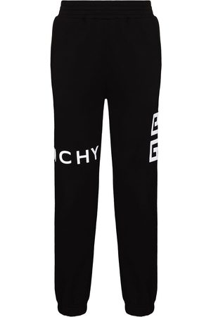 Givenchy 4G logo tapered trackpants