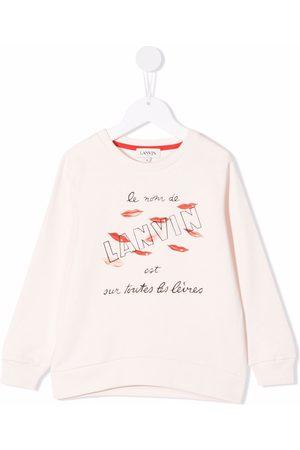 Lanvin Lip-print sweatshirt