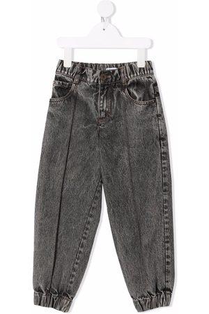 Brunello Cucinelli Acid-wash straight jeans