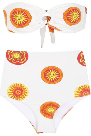 Amir Slama Women Bikinis - Printed high rise bikini set