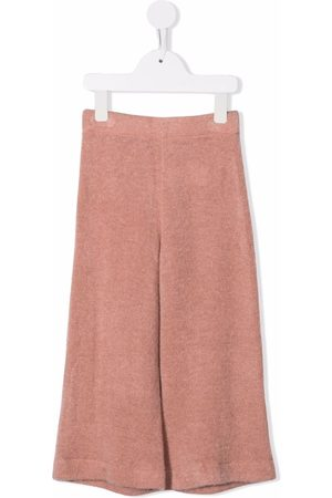 Caffe' D'orzo Knitted wide-leg trousers
