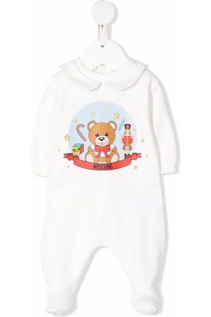 Moschino Teddy bear-motif logo-print pyjamas