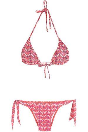 AMIR SLAMA Women Bikinis - Printed bikini set