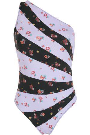 AMIR SLAMA One-shoulder swimsuit