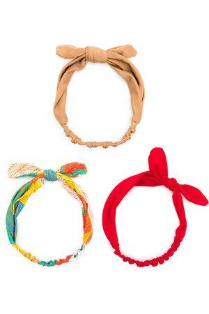 Amir Slama Knot-detail headband set