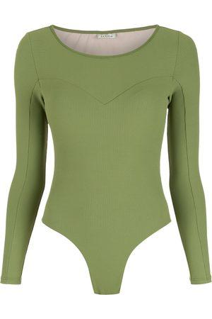 AMIR SLAMA Women Blouses - Long sleeves bodysuit