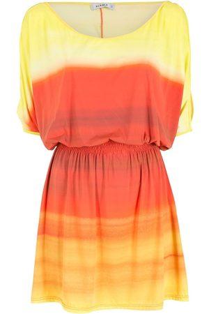 AMIR SLAMA Gradient dress