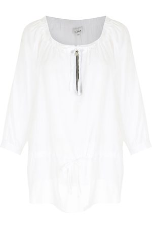 AMIR SLAMA Tie-fastening blouse