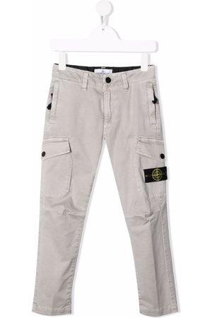 Stone Island Tapered-leg cargo trousers