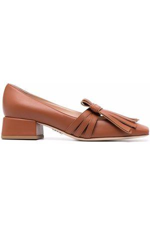 RODO Women Loafers - Fringe-embellished loafers