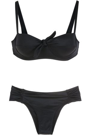 Brigitte Women Bikinis - Knot-detail bikini