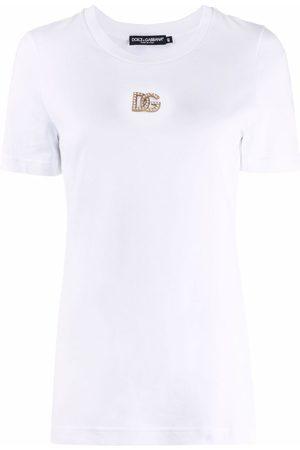 Dolce & Gabbana Logo-plaque short-sleeve T-shirt
