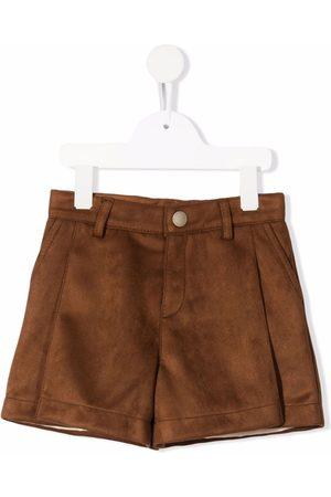 Chloé Faux-suede shorts