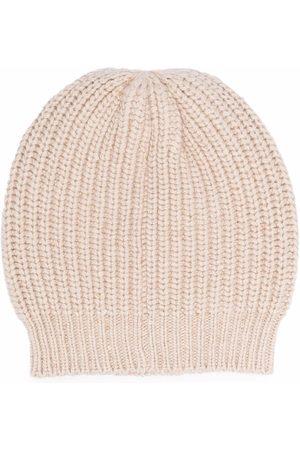 Brunello Cucinelli Rib knit beanie
