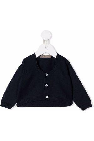 LITTLE BEAR Virgin wool knit cardigan