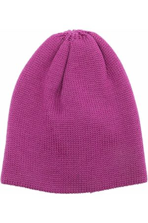 LITTLE BEAR Ribbed-knit wool beanie