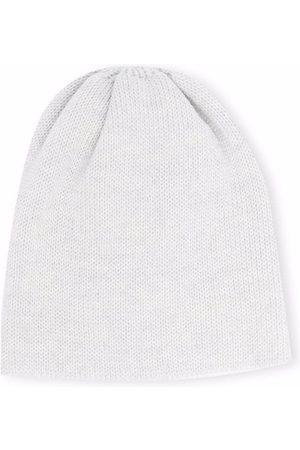 LITTLE BEAR Ribbed knit wool beanie