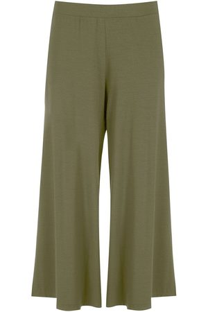 Lygia & Nanny Flared cropped trousers