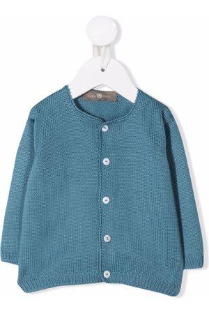 LITTLE BEAR Wool button-front cardigan